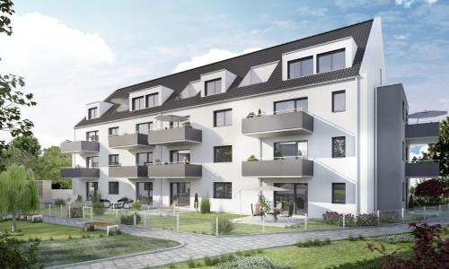 3D-Visual: NBG_Katzwanger Hauptstraße Haus-D FINAL