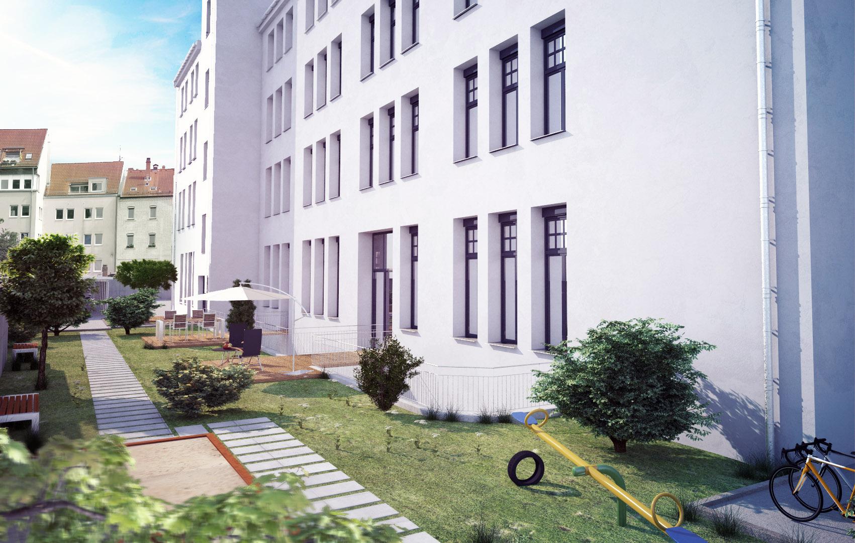 Att Architekten 3d architektur visualisierung fichtestraße nürnberg