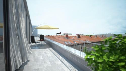 ATT Architekten – Fichtestraße Ausblick