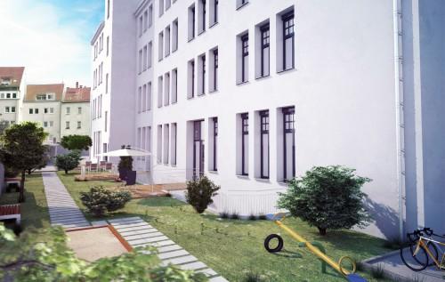 ATT Architekten – Fichtestraße Innehof