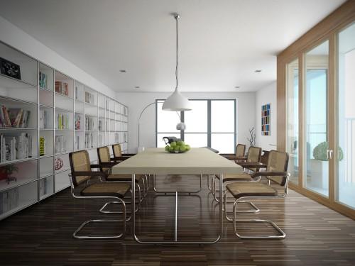 ATT Architekten – Fichtestraße Neubau: Essbereich